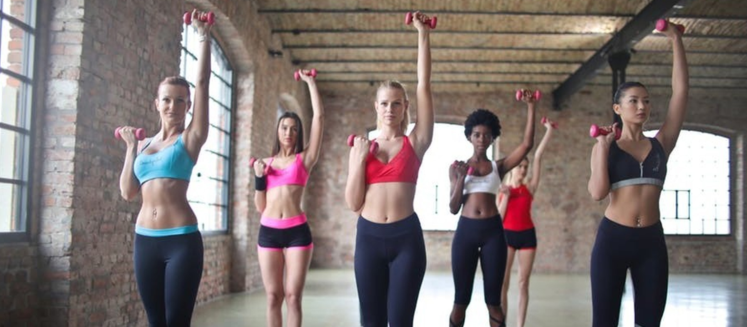 Image of women exercising