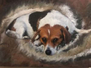 Photo Paining of beloved pet