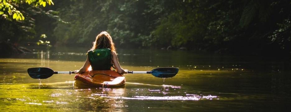 Image of kayaker