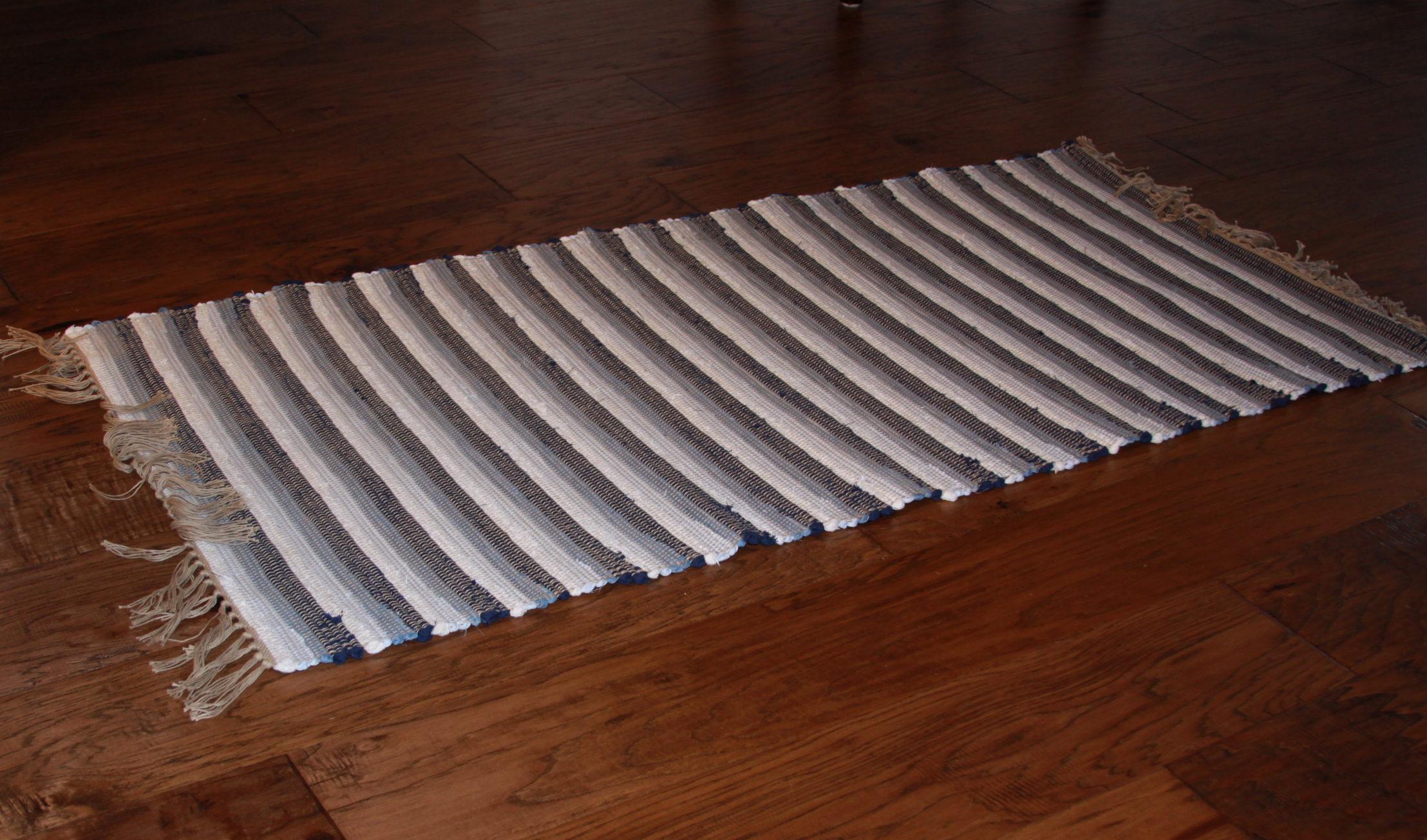 Image of a rag rug