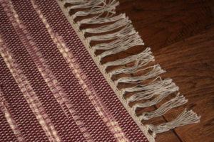 Image of rag rug fringe