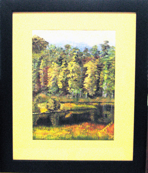 View from a picnic art image
