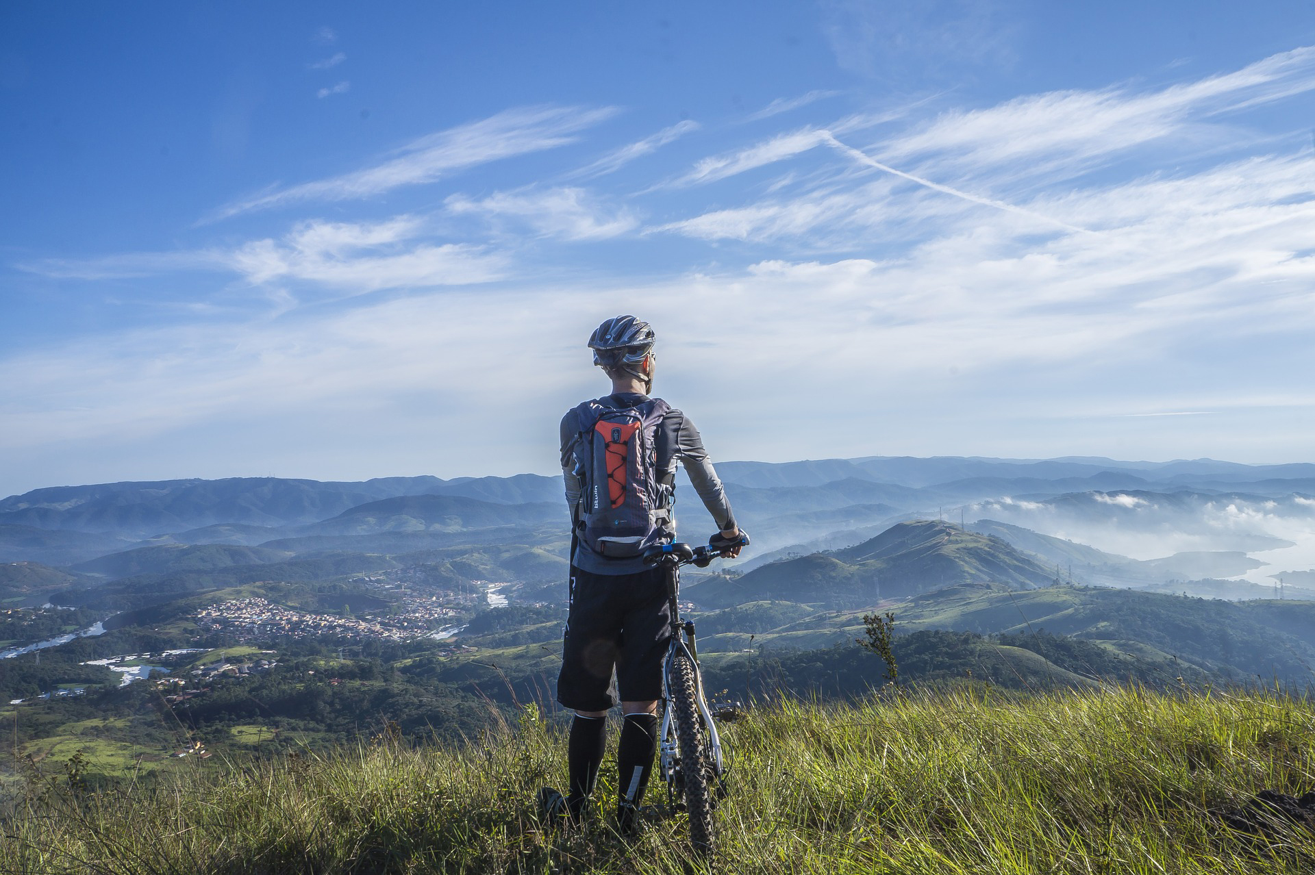 Image of biker