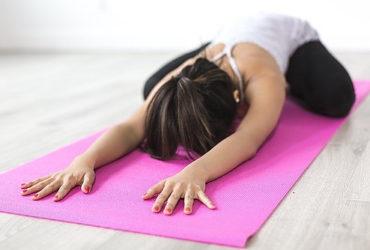 Image of woman doing yoga pose