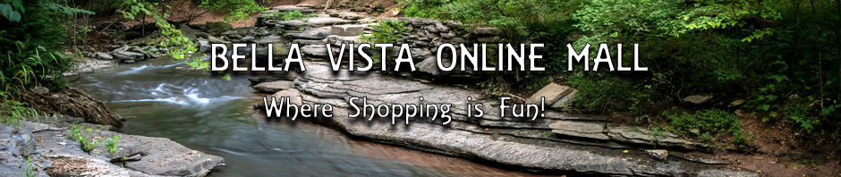 Banner with text Bella Vista Online Mall